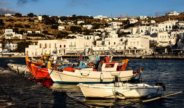 Fishing Boats Mykonos