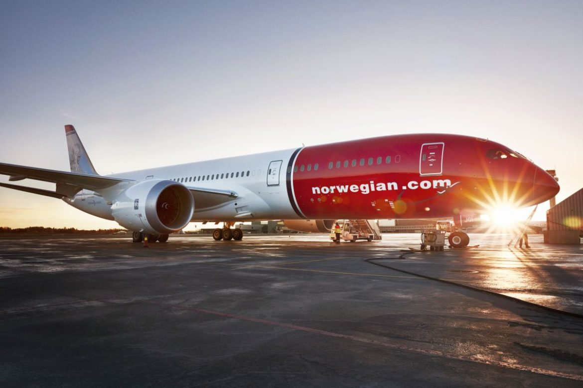 Norwegian Airlines non-stop service New York to Athens
