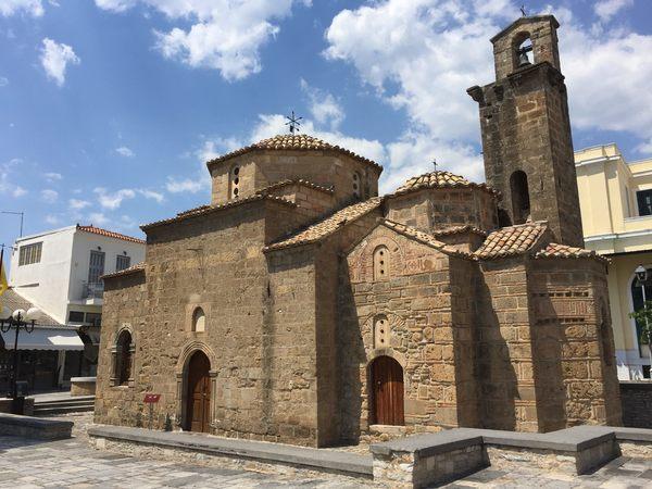 , Church of Agioi Apostoloi (Church of the Holy Apostles) – Kalamata, Greece – Atlas Obscura