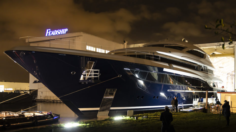 Feadship Launch Project 705