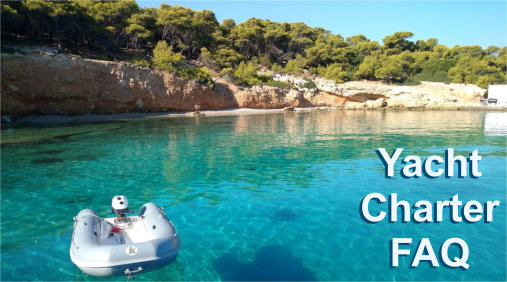 Our Greek Island Yacht Holiday FAQ pages