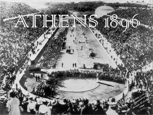 , 6 April 1896, the first Modern Olympic Games begins in Athens – Greek City Times