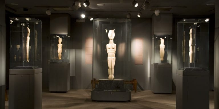 Virtual Tour at Athens Museum of Cycladic Art
